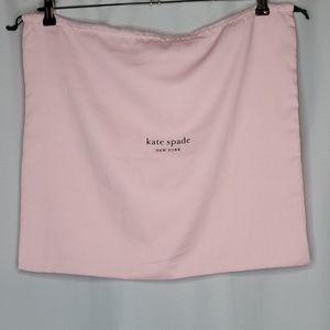Kate Spade Large Pink Dust Bag